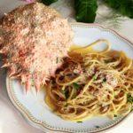 spaghetti con il fellone ristorante a ponza